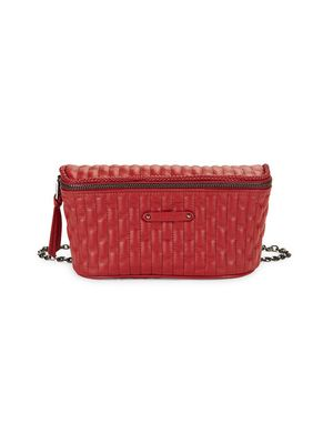 Longchamp Quilted Leather Belt Bag