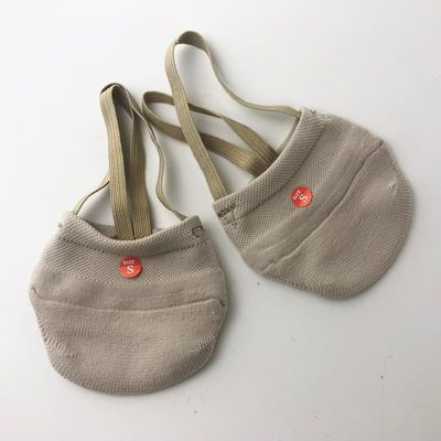 Rhythmic Gymnastics Shoes Soft Half Socks Knitted Roupa Ginastica Professional Competition Sole Shoes Protect Elastic Skin Color