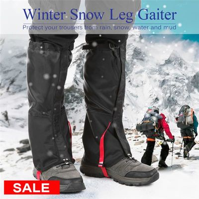 Outdoor Hiking Waterproof Gaiters Travel Leggings Tourist Leg Warmers Snow Climbing Leg Protection Sport Skiing Shoes Cover Men