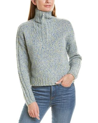 360 Cashmere Alena Wool & Mohair-Blend Pullover