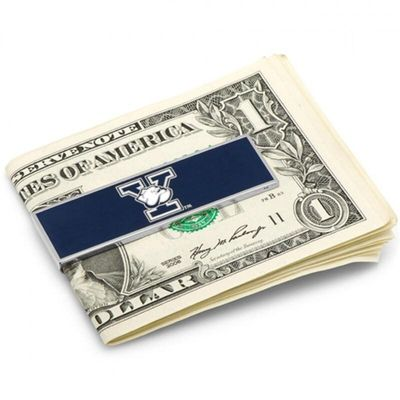 Yale Bulldogs Enamel Money Clip