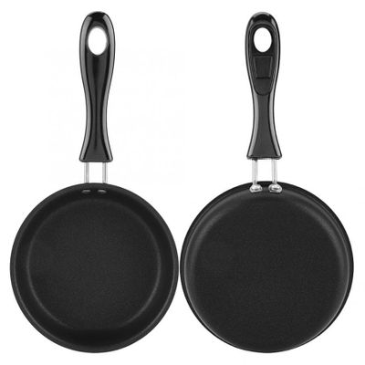 sartenes Portable Mini Frying Pan Poached Egg Household Small Kitchen Cooker crepieres electrique