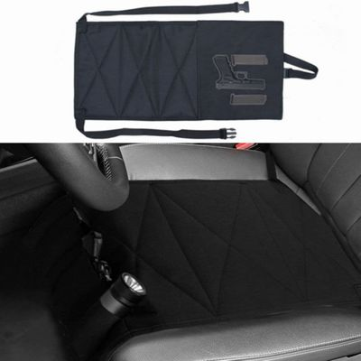 Hunting Bag Nylon Concealed Car Seat Pistol Holster and Mattress Bed Hand Gun Holder Tactical Hidden Holster For Car Seat
