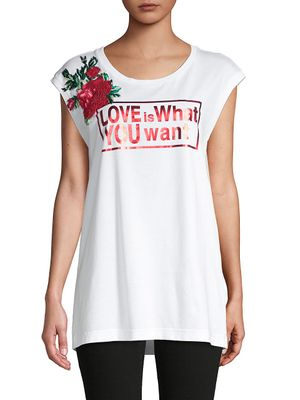 Dolce & Gabbana Embroidered Cotton Tank Top