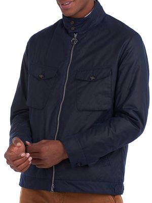 Barbour Stand-Collar Cotton Jacket