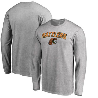 Florida A&M Rattlers Proud Mascot Long Sleeve T-Shirt - Ash
