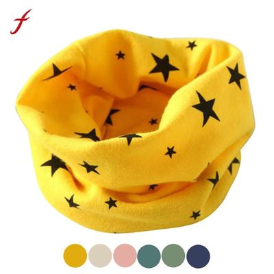 Mance Autumn Winter Fashion Classic children's scarf Boys Girls Collar Baby Scarf Cotton O Ring Neck Scarves new 2020