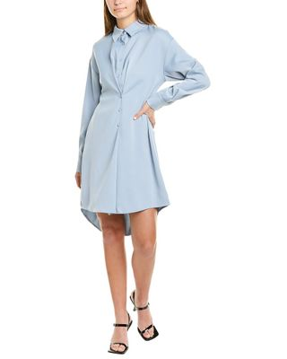Gracia Button-Down Shirtdress