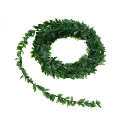 7.5m Artificial Ivy Garland Foliage Green Leaves Simulated Vine For Wedding Party Ceremony DIY Headbands