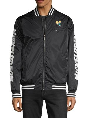 Members Only Members Only x Nickelodeon Zip-Up Bomber Jacket