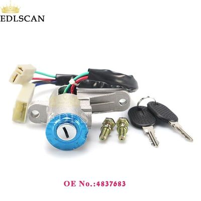 2sets Ignition Barrel Switch for Eurocargo Eurotech Steering Wheel Ignition Lock Cylinder 4837683