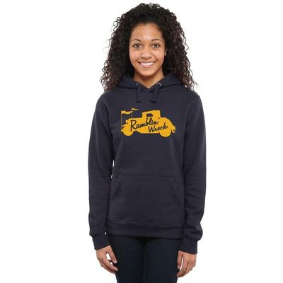 Georgia Tech Yellow Jackets Women's DNA Pullover Hoodie - Navy