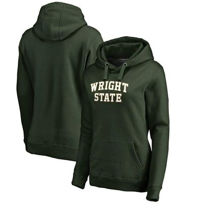 Wright State Raiders Fanatics Branded Women's Everyday Pullover Hoodie - Green