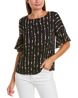 Vince Camuto Flutter Cuff Top