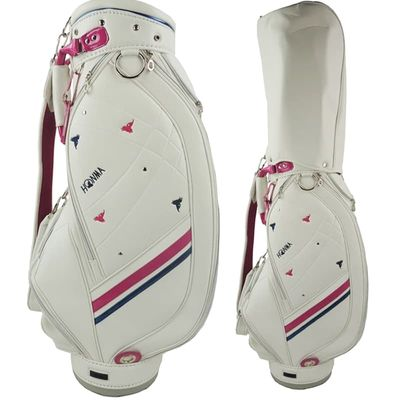 Cooyute New WOMEN Golf bag High quality PU Golf clubs bag in choice 8.5 inch HONMA Golf Standard Bag Free shipping