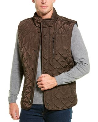 TailorByrd Diamond Quilted Vest