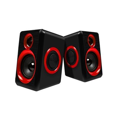 Surround Portable Computer Speakers With Stereo Bass Usb Wired Powered Multimedia Speaker Desktop For Pc Laptops