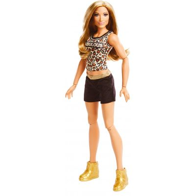 WWE Superstars Carmella 12-inch Posable Action-Fashion Doll