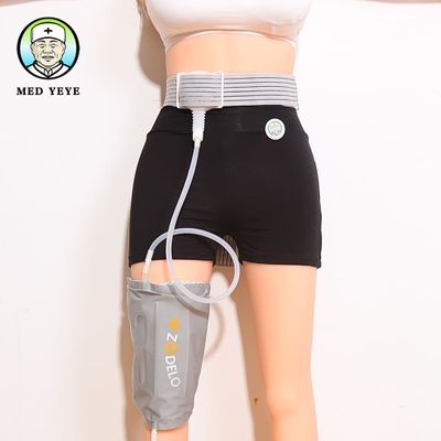 Single-side urine bag portable urinary colostomy bags go to work or travel easily with 800ML large capacity and adjustable belt