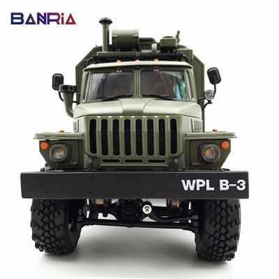 WPL RC Truck B36 Ural 1/16 2.4G 6WD Remote Control Military Truck Rock Crawler Car Hobby Toys for Boys carro eletrico