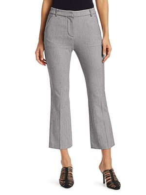 3.1 Phillip Lim Slim-Fit Cropped Kick Flare Trousers