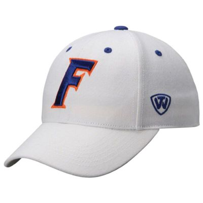 Florida Gators Top of the World Dynasty Memory Fit Fitted Hat - White