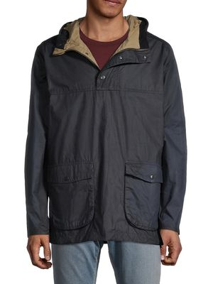 Barbour Waxed Cotton Hooded Jacket