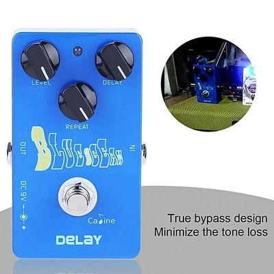 Metal Delay Guitar Effect Pedal High True Bypass Instrument Accessory