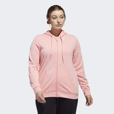 Adidas Essentials Hooded Track Top (plus Size)