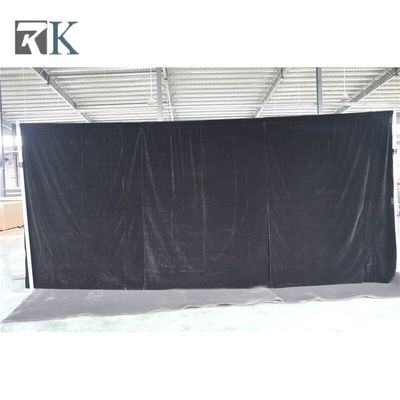 heavy duty pole pipe and curtain event drape stage backdrop hall room divider