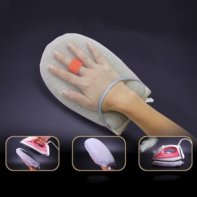 Portable Mini Ironing Board Household Ironing Pad High Temperature Resistant Sponge Handheld Steam Ironing Gloves