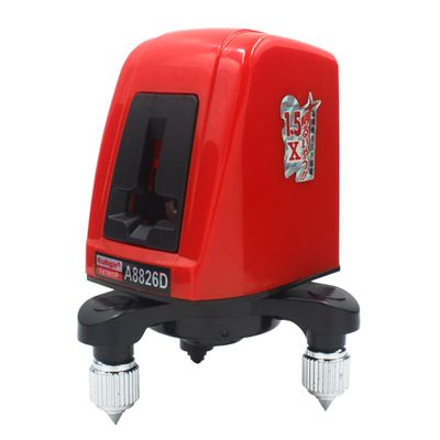 ACUANGLE A8826D Cross Red Laser Level 360 Degree Self-leveling 1V1H 2Lines 1 Point Horizontal And Vertical Nivel Laser with Bag