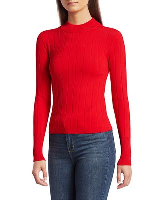 A.L.C. Koko Ribbed Knit Top
