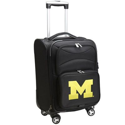 Michigan Wolverines 21In Spinner Carry-On - Black