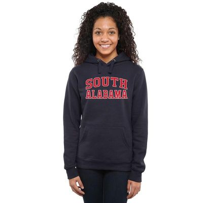 South Alabama Jaguars Women's Everyday Pullover Hoodie - Navy