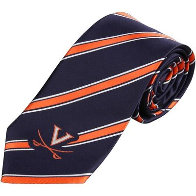 Virginia Cavaliers Woven Poly Striped Tie