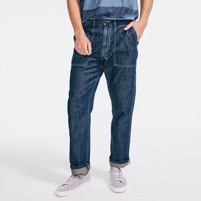 Nautica Nautica Jeans Co. Relaxed Fit Utility Denim