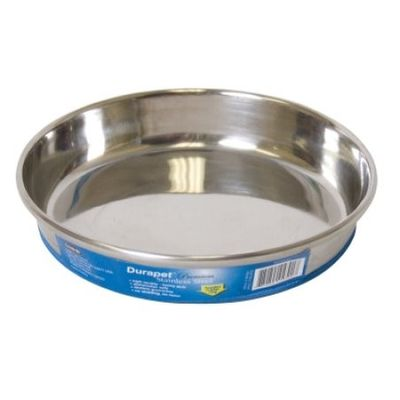 Durapet Small Cat Bowl - Durable Stainless Steel Skid Proof Cat Dish and Bowl