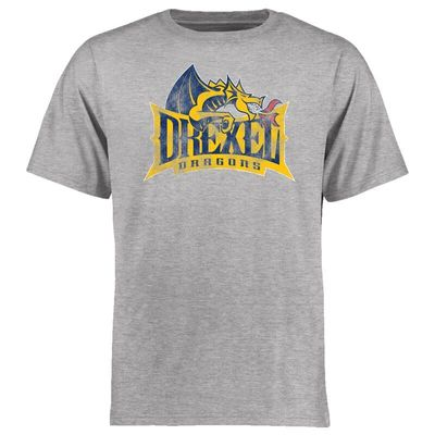 Drexel Dragons Big & Tall Classic Primary T-Shirt - Ash