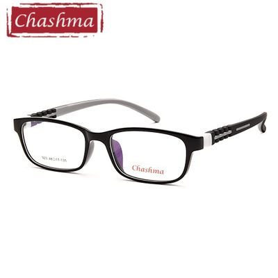 Chashma Brand Kids 10 11 12 Years Old Teens Girl Eyeglass Boy Glasses TR 90 Rubber Frames Prescrpiton Eyeglasses Frame Child 48