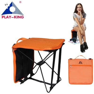PLAY-KING portable foldable camping chair bag folding hiking outdoor bag for trekking picnic Beach Seat Fishing Tools Chair