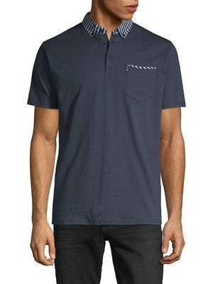 Ben Sherman Short-Sleeve Cotton Blend Polo