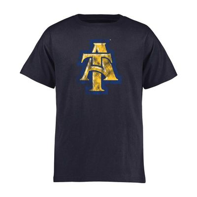 North Carolina A&T Aggies Youth Classic Primary T-Shirt - Navy