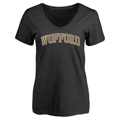 Wofford Terriers Women's Everyday T-Shirt - Black