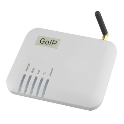 Free Shipping! VOIP gateway GoIP-1 VoIP Gateway LEDs for Power, Ready, Status, WAN, PC, GSM