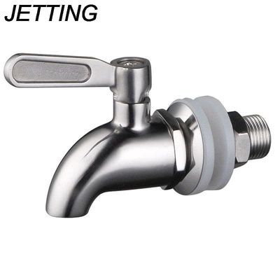 JETTING 1PCS Hot Sale Wine Barrel Spigot/Faucet/Tap Stainless Steel Replacement Beverage Drink Dispenser