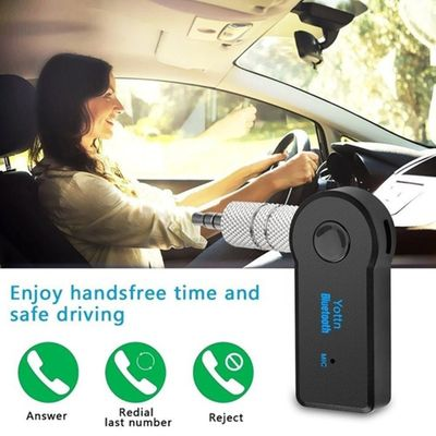 Car Aux Wireless Receiver 3.5Mm Wireless Car Audio Player Wireless Handsfree Call Adapter Aux Receiver 3.5Mm