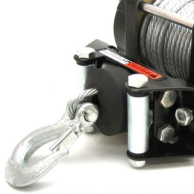 New Rubber Universal Saver Stopper Line Rope Hook Vehicle Winch For ATV Durable