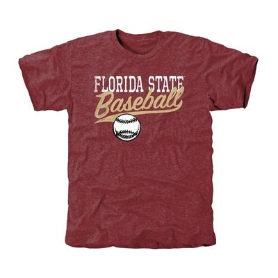 Florida State Seminoles Ballpark Tri-Blend T-Shirt - Garnet