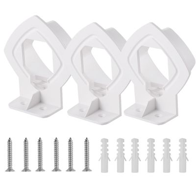 1/2/3 Pack Wall Mount Bracket Stand Holder White for Linksys Velop Tri-band Whole Home WiFi Mesh System